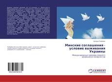 Bookcover of Минские соглашения - условие выживания Украины