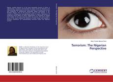Bookcover of Terrorism: The Nigerian Perspective