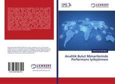 Portada del libro de Analitik Bulut Mimarilerinde Performans İyileştirmesi