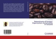 Обложка Determinants of Farmers' Organizations Sustainability in Tanzania