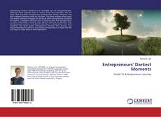 Entrepreneurs' Darkest Moments kitap kapağı