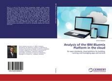 Buchcover von Analysis of the IBM Bluemix Platform in the cloud
