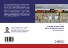 Buchcover von Sub-document level Information Retrieval