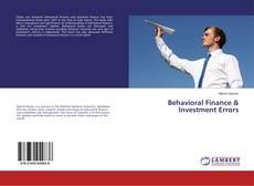 Bookcover of Behavioral Finance & Investment Errors