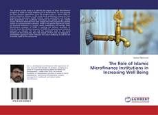 Bookcover of The Role of Islamic Microfinance Institutions in Increasing Well Being