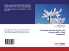 Обложка Pulmonary hypertension in myeloproliferative neoplasm