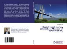 Capa do livro de Effect of Supplementary Cementitious Materials on Behavior of HPC