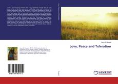 Bookcover of Love, Peace and Toleration