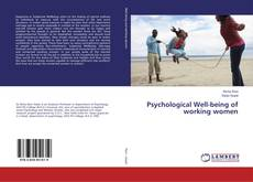 Bookcover of Psychological Well-being of working women