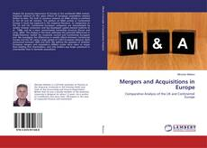Bookcover of Mergers and Acquisitions in Europe