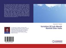 Bookcover of Variation Of July Month Rainfall Over India
