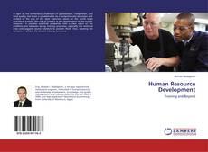 Bookcover of Human Resource Development