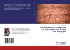 Buchcover von Job Satisfaction and Quality of Working Life of Middle Level Managers