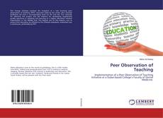 Bookcover of Peer Observation of Teaching