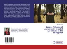 Couverture de Species Richness of Lauraceae in Selected Mountains in the Philippines