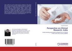 Capa do livro de Perspective on Clinical Research, India