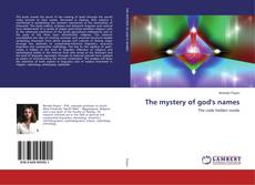 Portada del libro de The mystery of god's names