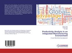 Capa do livro de Productivity Analysis in an Integrated Manufacturing Environment