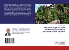 Couverture de Modified Biginelli-type reaction with various metallophthalocyanines
