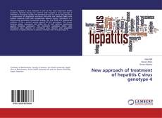 Copertina di New approach of treatment of hepatitis C virus genotype 4