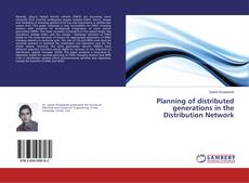 Capa do livro de Planning of distributed generations in the Distribution Network