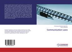Bookcover of Communication Laws