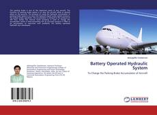 Bookcover of Battery Operated Hydraulic System