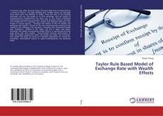 Bookcover of Taylor Rule Based Model of Exchange Rate with Wealth Effects