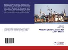 Bookcover of Modeling Error Analysis for SOPDT Model