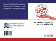 Portada del libro de An empirical research on customer satisfaction