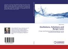 Bookcover of Oscillations, Foliations and Burger Laws