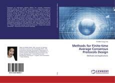 Portada del libro de Methods for Finite-time Average Consensus Protocols Design