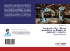 Borítókép a  Implementation of Lean Manufacturing Practice In Automotive Industry - hoz