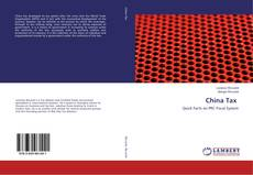 Bookcover of China Tax