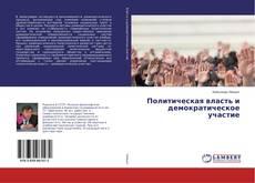 Политическая власть и демократическое участие的封面