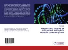 Bookcover of Mitochondria imaging of two-photon absorption molecule containing amin