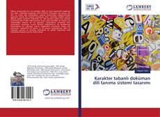 Borítókép a  Karakter tabanlı doküman dili tanıma sistemi tasarımı - hoz