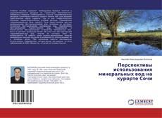 Bookcover of Перспективы использования минеральных вод на курорте Сочи