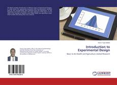 Bookcover of Introduction to Experimental Design