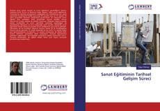 Bookcover of Sanat Eğitiminin Tarihsel Gelişim Süreci