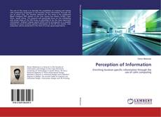 Bookcover of Perception of Information