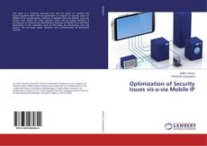 Portada del libro de Optimization of Security Issues vis-a-via Mobile IP