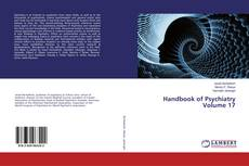 Capa do livro de Handbook of Psychiatry Volume 17