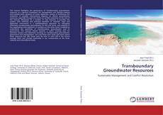 Couverture de Transboundary Groundwater Resources