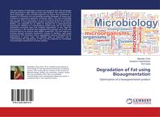 Bookcover of Degradation of Fat using Bioaugmentation