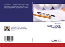 Bookcover of Heat treatments. Applications