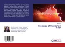 Bookcover of Intonation of Questions in Greek