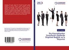 Capa do livro de Dış Kaynaklardan Yararlanan Otellerde Örgütsel Bağlılık ve İş Doyumu