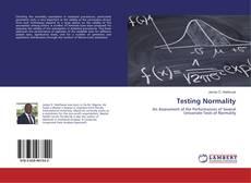 Testing Normality kitap kapağı