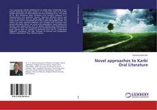 Novel approaches to Karbi Oral Literature的封面